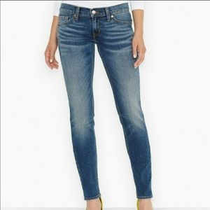 Levi's 524 Too Superlow Denim Skinny Jeans